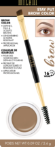 Milani Stay Put Brow Color 01 Soft Brown, 02 Natural Taupe - $6.77+