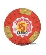 Jackpot Las Vegas $5 Casino Chip 1971 Issue - $9.99