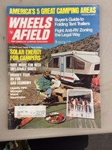 Wheels Afield Magazine Vintage May 1974 Solar Energy For Campers Travel ... - $11.99