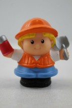 Fisher Price Little People Construction Worker With Thermos And Spade - $2.47