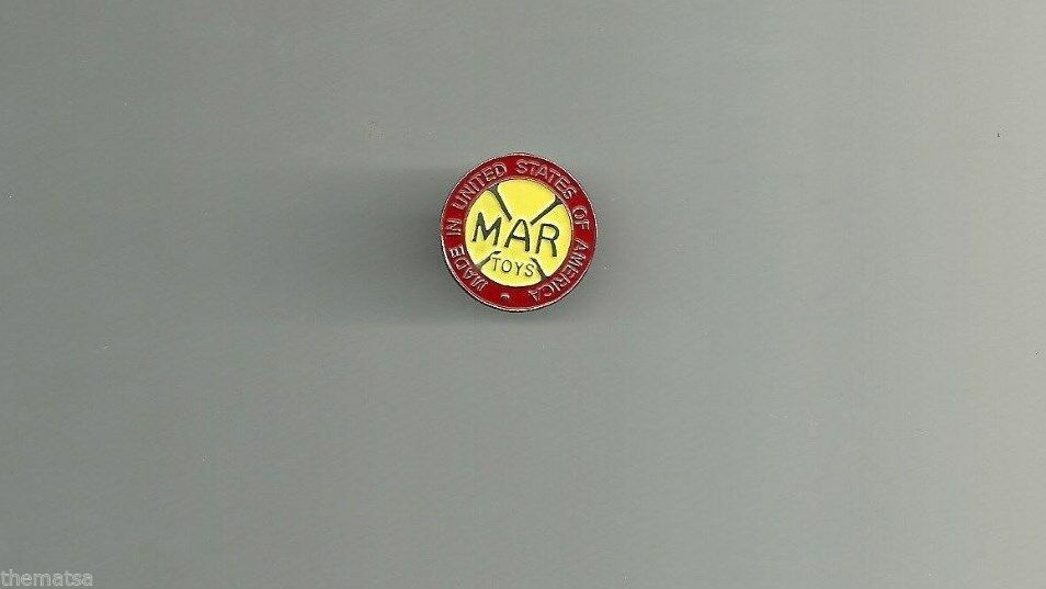 Primary image for MAR MARX TOYS LAPEL PIN MADE IN UNITED STATES OF AMERICA