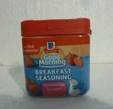 New Sealed Mc Cormick Good Morning Breakfast Seasoning Strawberries & Cream S-59 - $7.84
