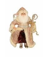 Karen Didion Santa Claus Victorian Elegance Santa cc16-185. 17 inch Santa - $94.00