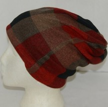 Howards Arianna Collection Buffalo Plaid Convertible Hat Adult Reds image 2