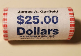 2011 JAMES A. GARFIELD PRESIDENTIAL DOLLAR UNCIRCULATED ORIGINAL BANK WR... - $34.99
