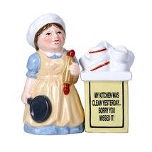 Clean Kitchen Ceramic Magnetic Salt and Pepper Shaker Set - $12.86