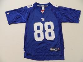 M45 Flawed Reebok New York Giants Hakeem Nicks #88 Blue Jersey Men's S - $24.70