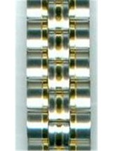 Seiko   Two-Tone Stainless Steel Link AU05515N 5M62-0C70 - $24.75