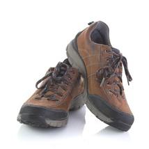 Clarks Wave Walk Brown Leather Waterproof Sneakers Hiking Outdoor Womens 9.5 M - $34.53