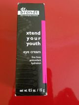 Dr. Brandt Xtend Your Youth Eye Cream, 0.5 oz - Brand New in Box - $27.95