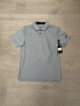 New With Tags 2017 Nike DRI-FIT Golf Polo Gray & Black Lines Size Small - $40.00