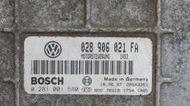 96-97 VW Passat TDI B4 1.9L Diesel ECU ECM PCM Engine Computer 028906021FA image 3