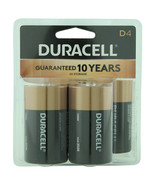 Duracell D Batteries Pack of 4   - $16.52
