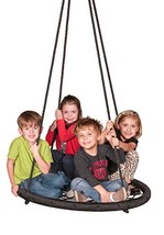 M & M Sales Enterprises Web Riderz Outdoor Swing N' Spin- Safety rated t... - $79.42