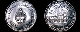 1960 Argentina 1 Peso World Coin - 1810 Revolution - $7.99
