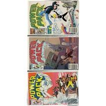 ~Marvel Comics~ POWER PACK Comic Lot (3) #3, 16, 22 - $4.94