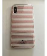 Kate Spade New York Phone Case Apple iPhone XR Slim Design Clear & Pink - $27.50