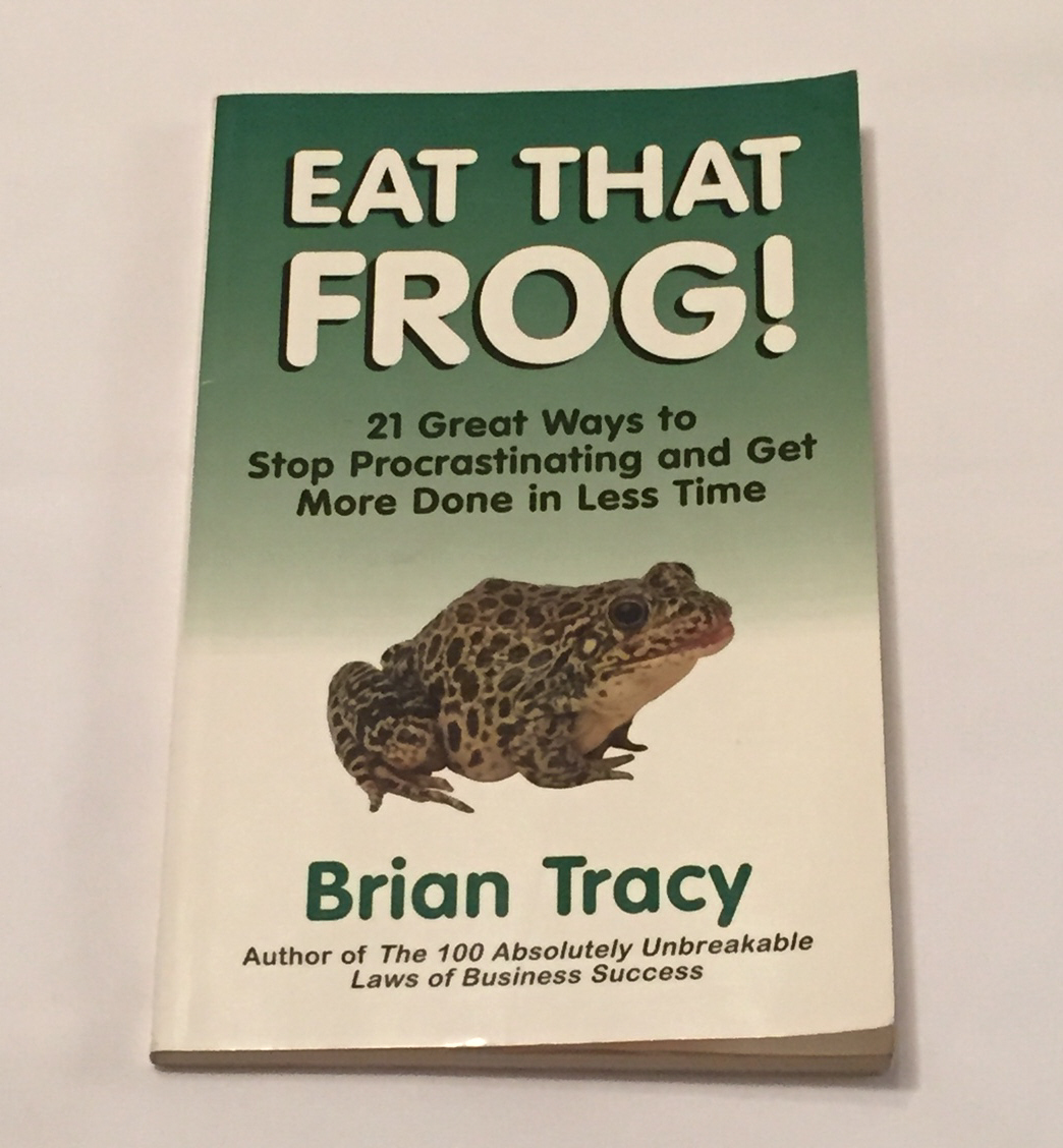 Primary image for SC book Eat That Frog by Brian Tracy self help Stop Procrastinating