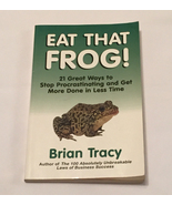 SC book Eat That Frog by Brian Tracy self help Stop Procrastinating - $2.00