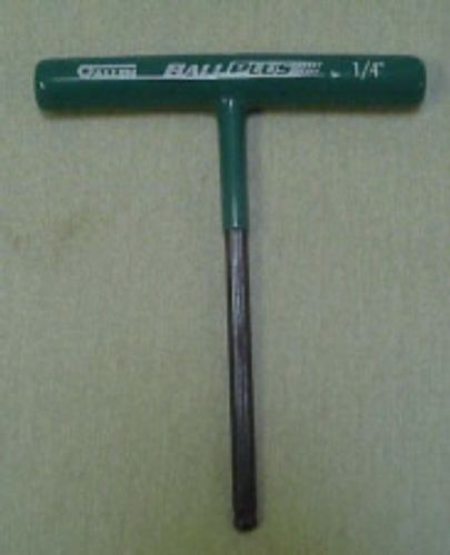 Allen 5MJ63 Ballplus Green T Handle Wrench Quarter Inch