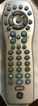 Ge RC24922-C Universal 6-DEVICE Remote Control For Tv Dvr Cbl Dvd Sat Aux - $9.75