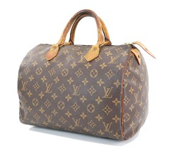 Authentic LOUIS VUITTON Speedy 30 Monogram Boston Hand Bag Purse #31359 - $299.00