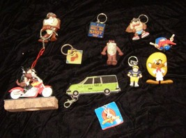 Looney Tunes HBO Margaritaville Keychains & Figures Lot Tasmanian Devil + - $22.99