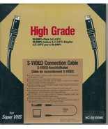 High Grade S-Video Connection Cable - Super VHS - VC-S1100HG - 10m / 33'... - $4.89
