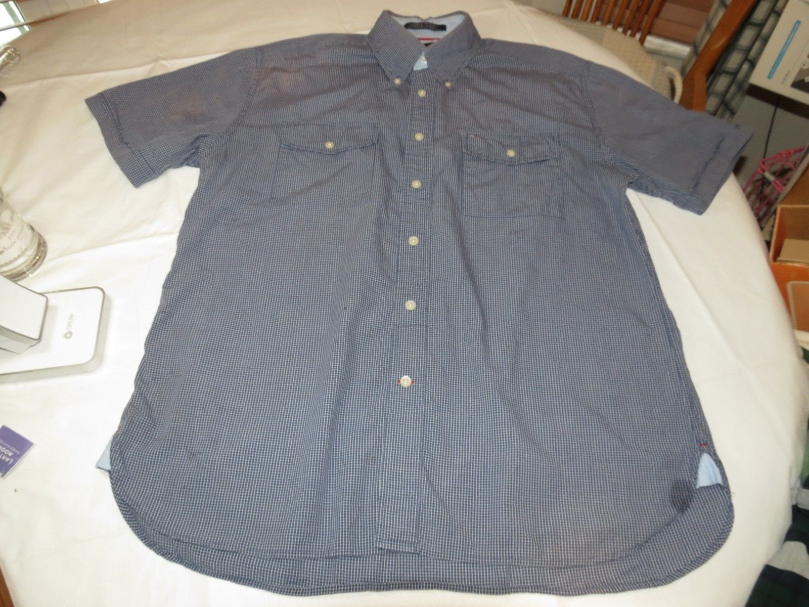 0aa70458 Tommy Hilfiger Short Sleeve Button Up Shirt and 50 similar items