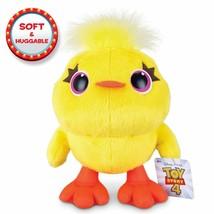 Toy Story 4 Disney Pixar Ducky Huggable Plush - $9.75