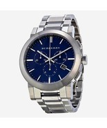 Burberry Mens Watch BU9363 The City Blue Dial Swiss Chronograph Analog D... - $199.00