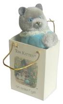 Beatrix Potter Tom Kitten Plush Animal Clip On Hugger - $10.95
