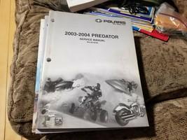 Polaris 2003 Predator & 2004 Predator Service Manual Part #9918785 - $17.81