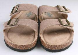 Woodstock Women Leslie Comfort Footbed Adjustable Straps Sandal Shoe Tan Size 9 image 5