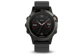 Garmin Fenix 5 Multisport GPS Watch for Fitness, Black Sapphire (010-016... - $699.99