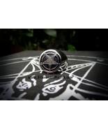 SOLD !--ILLUMINATI MAGICK™  BlackStar Apotheosis Ring of Set-An the Dest... - $1,333.00