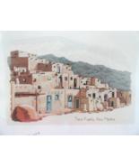 Art Ventures Taos Pueblo New Mexico Cross Stitch kit Across America Series - $12.99