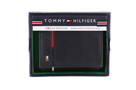 Tommy Hilfiger Men's Leather RFID Extra Capacity Trifold Wallet 31TL110044 image 2