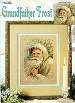 Grandfather Frost in Cross Stitch Leaflet 3222 NOS - $7.00