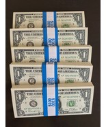 500 PROP MONEY REPLICA 1s New Style Full Print For movie Video Etc. 5 ST... - $95.99