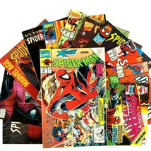 12 Spider-Man Comic Book Lot VF NM Marvel Fantastic Four Carnage X-Force... - $19.75