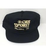 Vintage Rare CBS Sports Golf 1995 Masters Tournament Black & Gold Promo ... - $122.45
