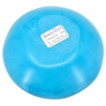 Tabaka Chigware Handmade Soapstone Light Blue Spring Flower Trinket Bowl Kenya image 2
