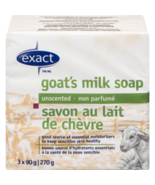 Exact Goat's Milk Soap Unscented 12 bars Canadian  - $59.99