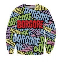 DJ Music Borgore Mug Logo Street Art Style Sweatshirt - $38.99