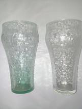 Vintage Coke Glass Set Of 2 - $8.05