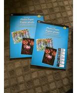 JOT PREMIUM PHOTO PAPER- 8 SHEETS PER PACK NEW SEALED (2 Packs) - $4.36