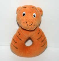Vintage Gund Disney Classic Pooh Tigger Terry Cloth Plush Ring Rattle, 5 Inch - $13.32