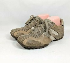 Skechers Fashion Sneakers Men's Sz 6.5 Med Brown Two-Tone Leather (sb8ep) - $27.99