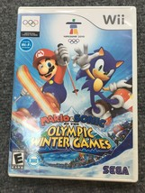 Mario & Sonic at the Olympic Winter Games (Nintendo Wii, 2009) - $7.43
